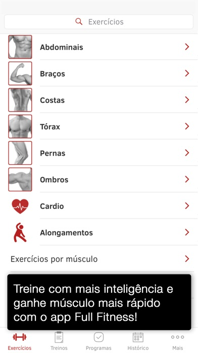 Screenshot for Full Fitness : Exercise Workout Trainer in Portugal App Store
