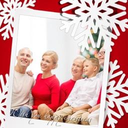 Santa claus HD Photo Frame - Free InstaFrame Edito