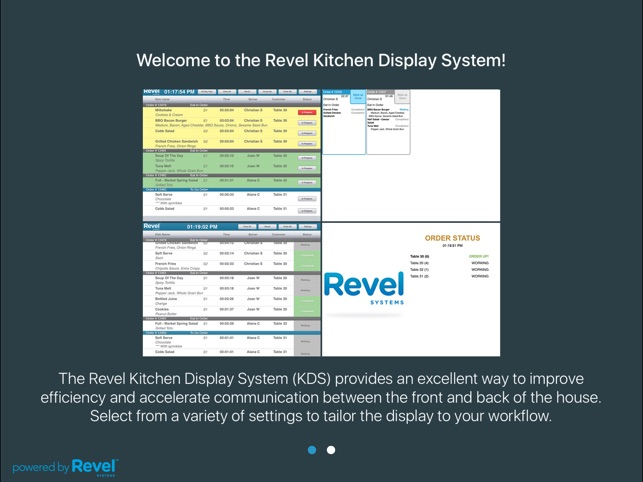 revel kitchen display system on the app store