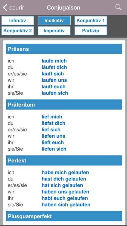 Dictionnaire Allemand-Français Larousse screenshot-4