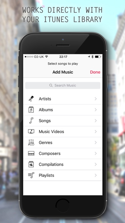 EarV - Blend your music with your environment