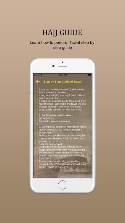 Hajj And Umrah Guide : Dua for Hajj screenshot-4