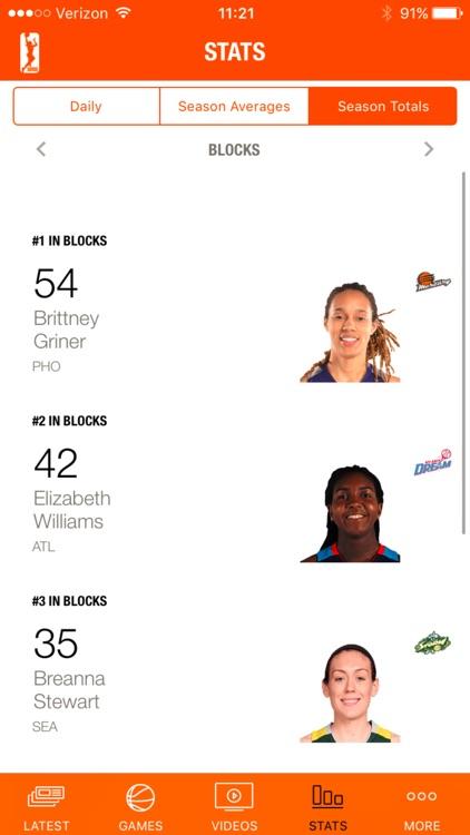 WNBA screenshot-4