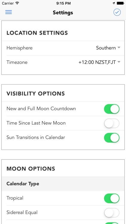 Garden Augur - Moon Calendar screenshot-3
