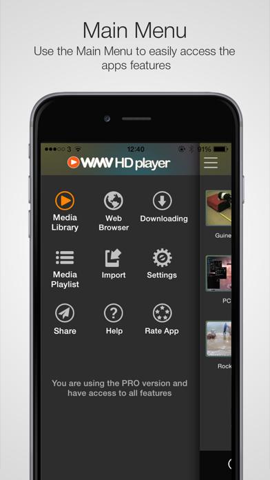 WMV HD Player Pro - Importerのおすすめ画像4
