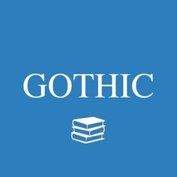 Gothic glossary - quiz, flashcard