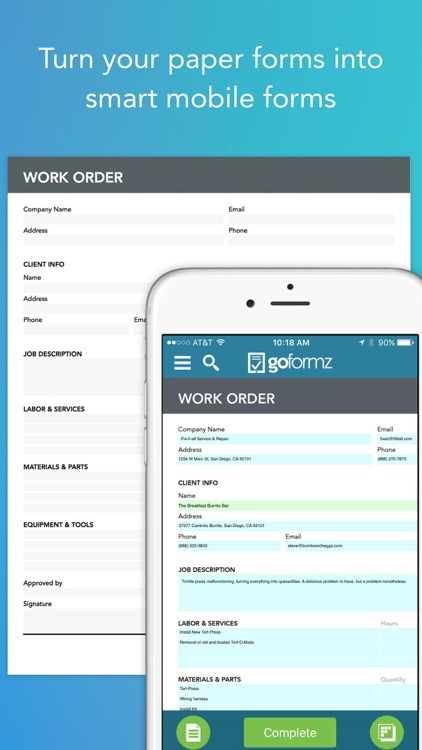 GoFormz Mobile Forms & Reports