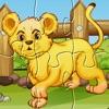 Wild Animals Puzzle: Preschool Kids Learning Games