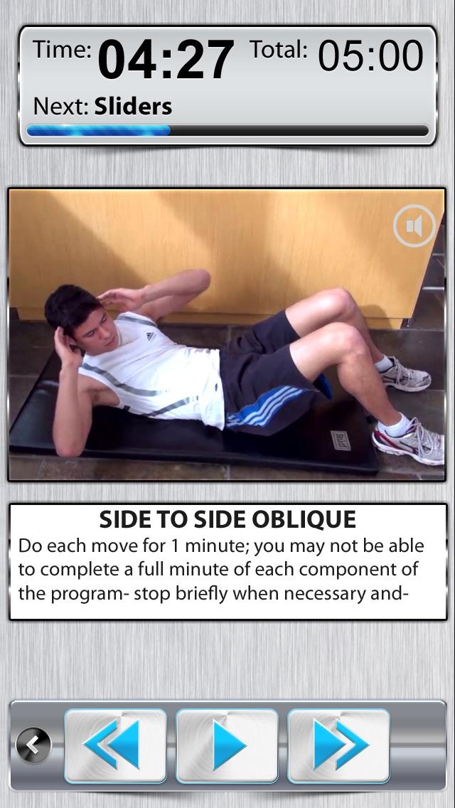 腹筋運動 無料のおすすめ画像1
