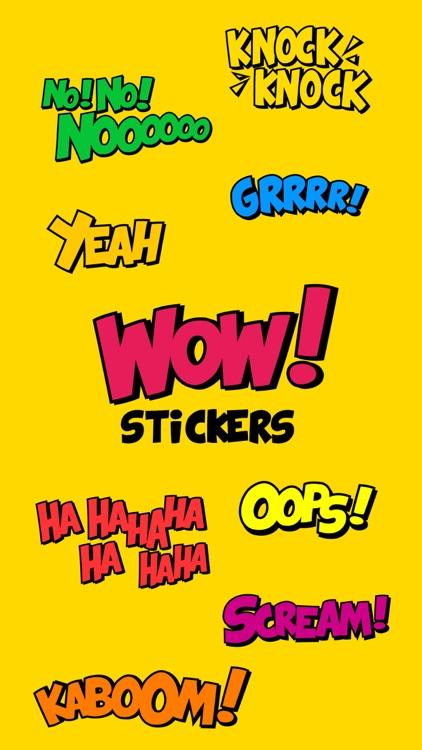 WOW Stickers