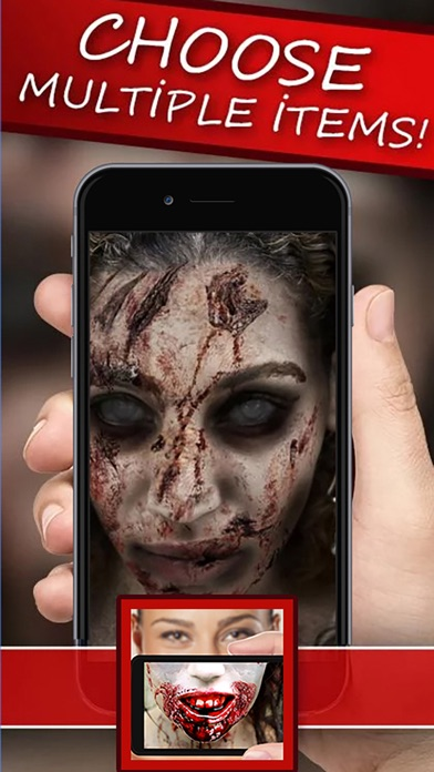 Zombie Booth Face Changer : Make Me Zombie HD screenshot three