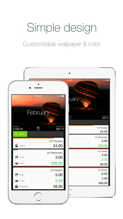 Money - Track your money easily. screenshot-0