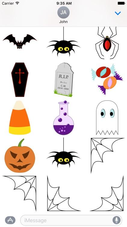 Halloween Fun - Stickers screenshot-3