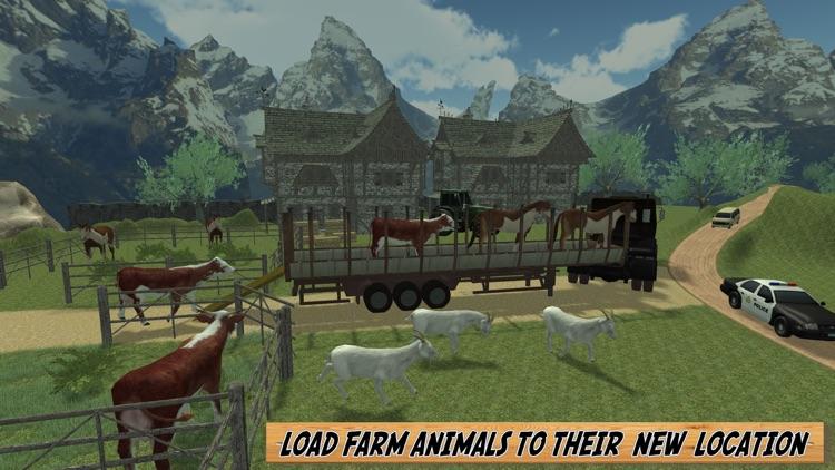 Off Road Farm Animal Transport 2016 screenshot-4