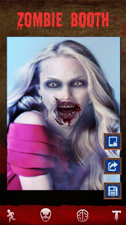 Zombie Games - Face Makeup, Halloween Photo Booth