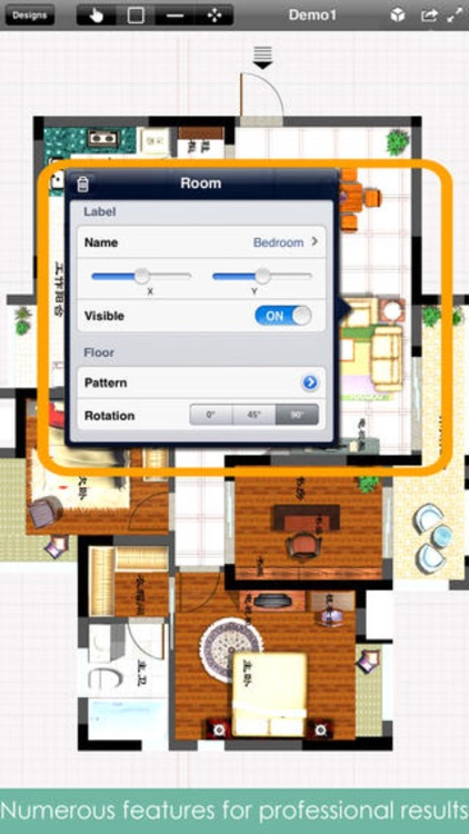 Home Design Pro : Interior Design & Floor Plan CAD