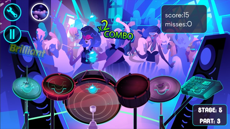 Electronic Drums Game screenshot-4