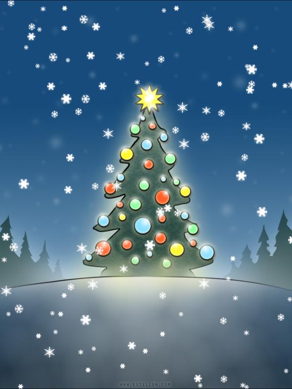 Screenshot #1 for Christmas Slideshow & Wallpapers (animated snow!