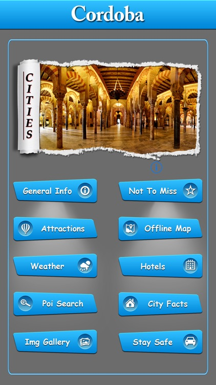 Cordoba  Offline Map Travel Guide screenshot-0