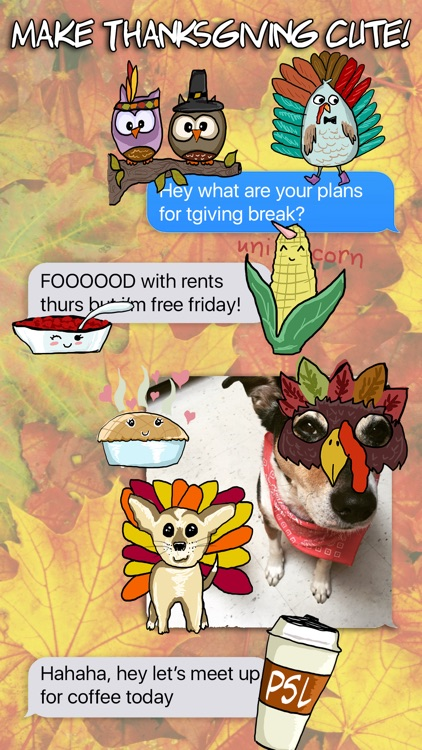 Thanksgiving Fall Stickers