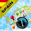Espanha, Portugal - Mapa Offline e Navegador GPS
