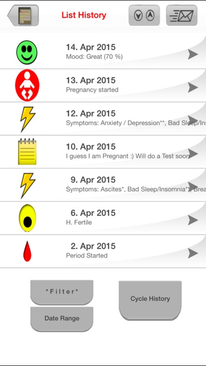 My Days X - Period & Ovulation ™ (Pro) screenshot-4