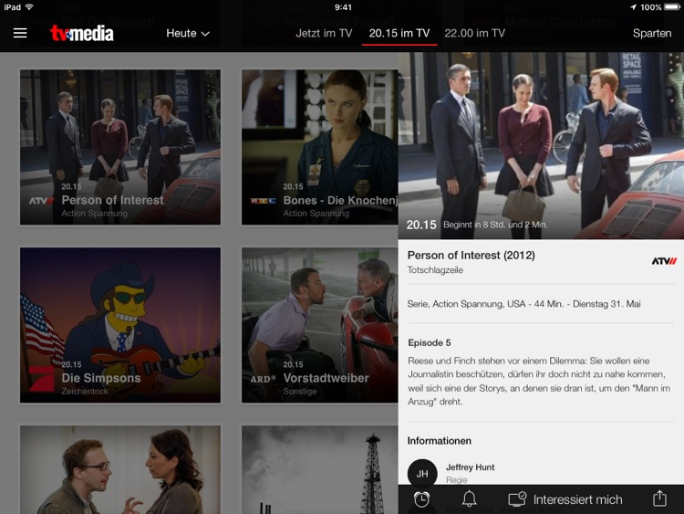 TV-MEDIA das beste TV Programm