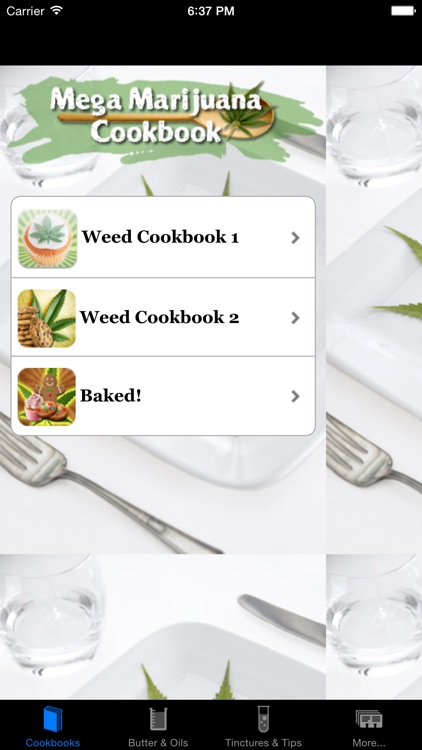 Mega Marijuana Cookbook - Cannabis Cooking & Weed