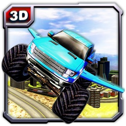 Flying Monster Truck Adventure & Lorry driving