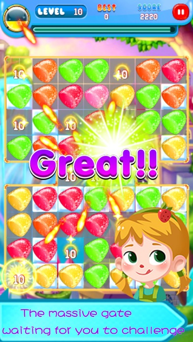 sweet candy swipe blast 2016 free match 3 games by yufang wu ios