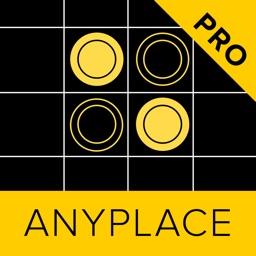 Anyplace Reversi - Othello : black & white. PRO
