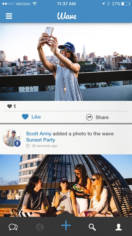 Wave - The Social Network For Events