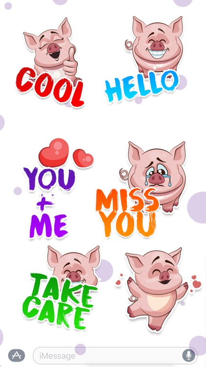 Piggy - Sticker Pack