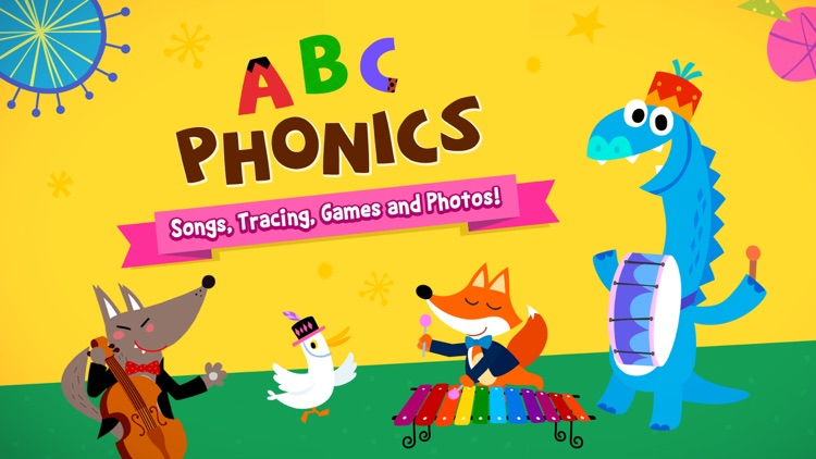 ABC Phonics: Songs, Tracing, Games and Photos! screenshot-0