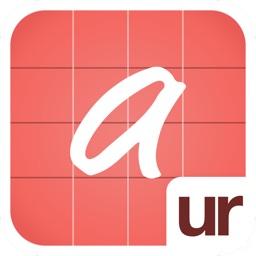 urFonts - Create personal handwritten fonts