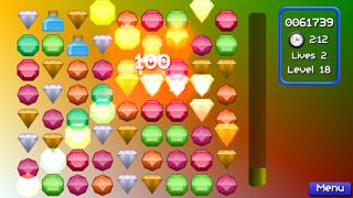 Jewel Match Jam : Pop and blast out 3 gems mania!Captura de pantalla de4