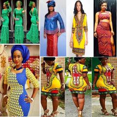 Modèle Tenue pour Femme Africaine