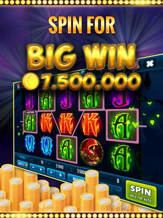Mysterious Slot Machine Screenshot
