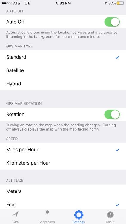 MGRS GPS screenshot-3