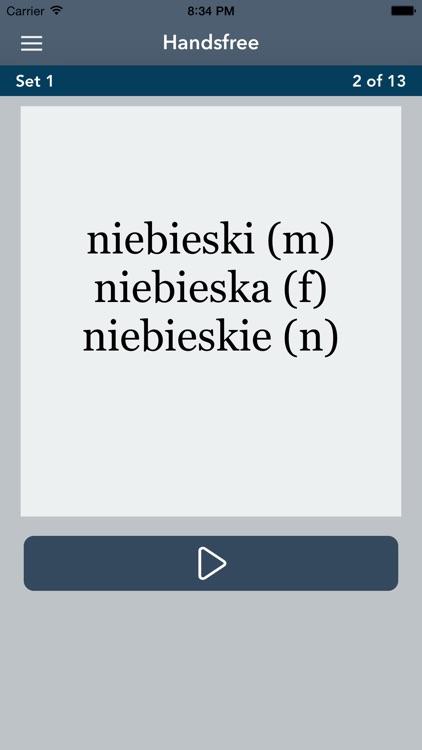 Learn Polish Essentials - AccelaStudy® screenshot-4