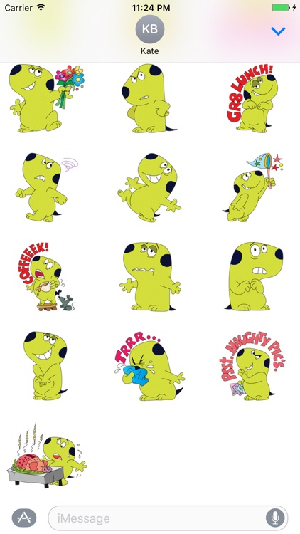Charlie - Cute dog stickers for iMessage