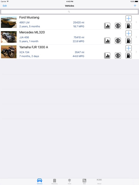 Car Manager for Cars & Bikes Screenshots