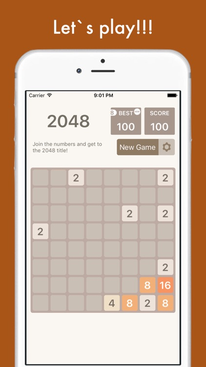 2048 Multi - 8x8, 6x6, 4x4 tiles in one app! screenshot-4