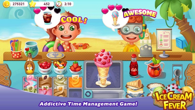 ice cream fever cooking game on the app store