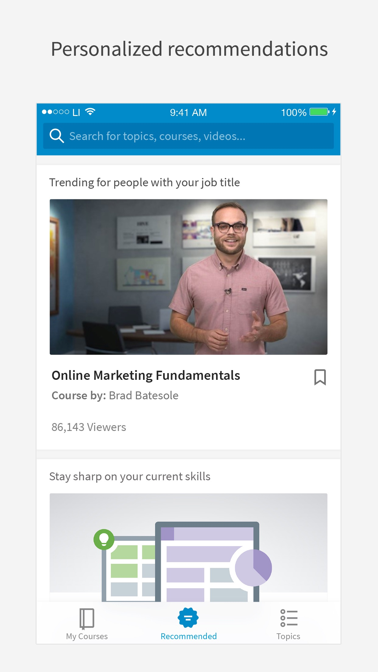 LinkedIn Learning Screenshot