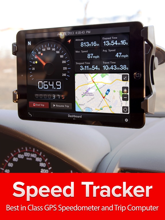 Speed Tracker. Pro Screenshots