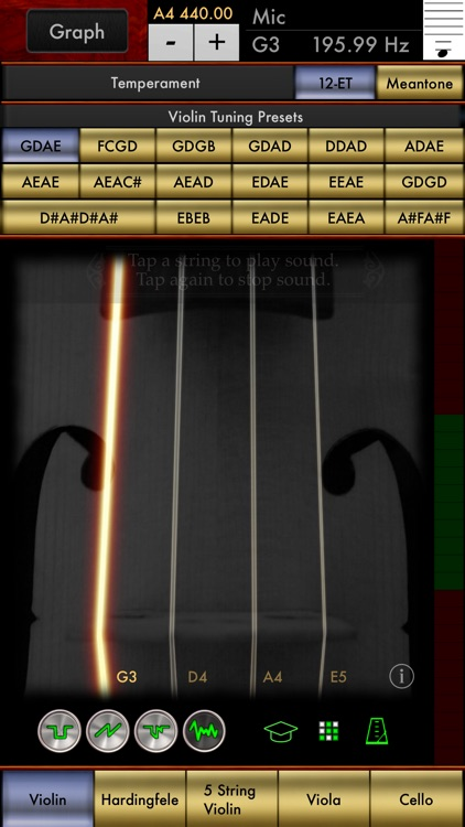 Violin Multi-Tuner screenshot-0