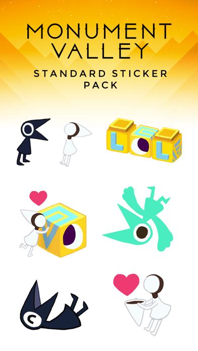 Скриншот №1 к Monument Valley Stickers
