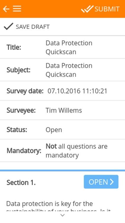 Risk Survey