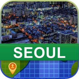 Offline Seoul, Korea Map - World Offline Maps